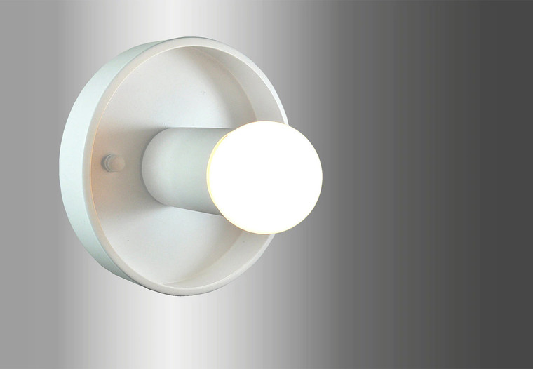 MASON Wall Sconce White - UL Listed