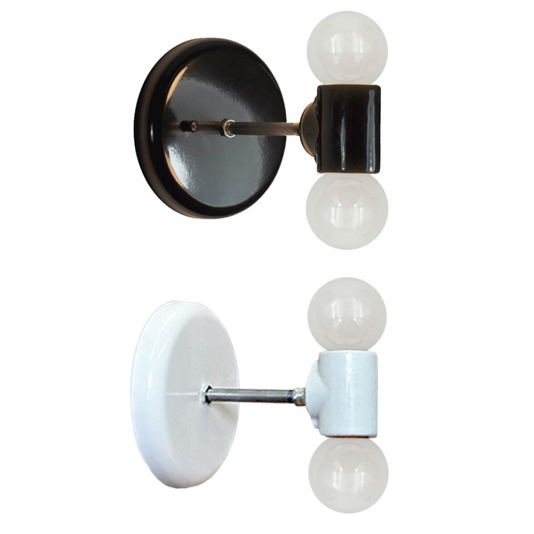 Modern Double Wall Sconce