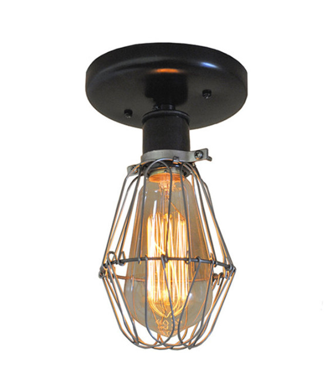 Industrial Cage Sconce