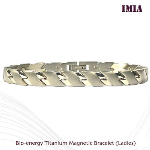 IMIA: Bio-Energy Titanium magnetic Bracelet (ladies)