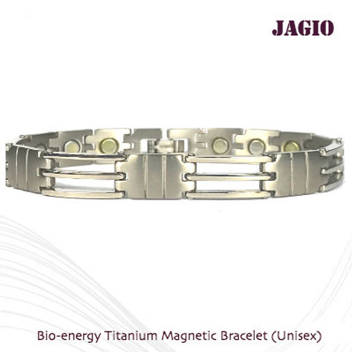 JAGIO - 2 Tone Silver Polish Finish