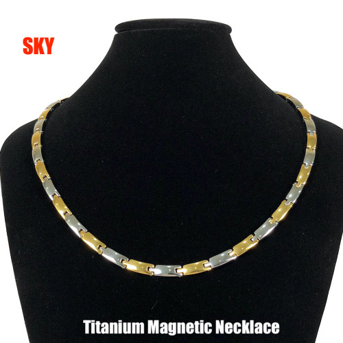 18 - Inch 2 Tone bio-magnetic necklace (ladies)