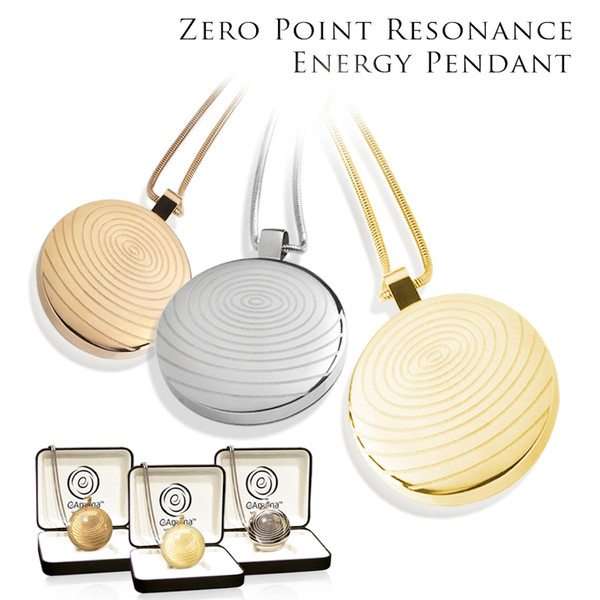 AFT Energized Titanium Energy Pendant Comes in: Rose Gold, 22K Gold and Silver Polish Finish