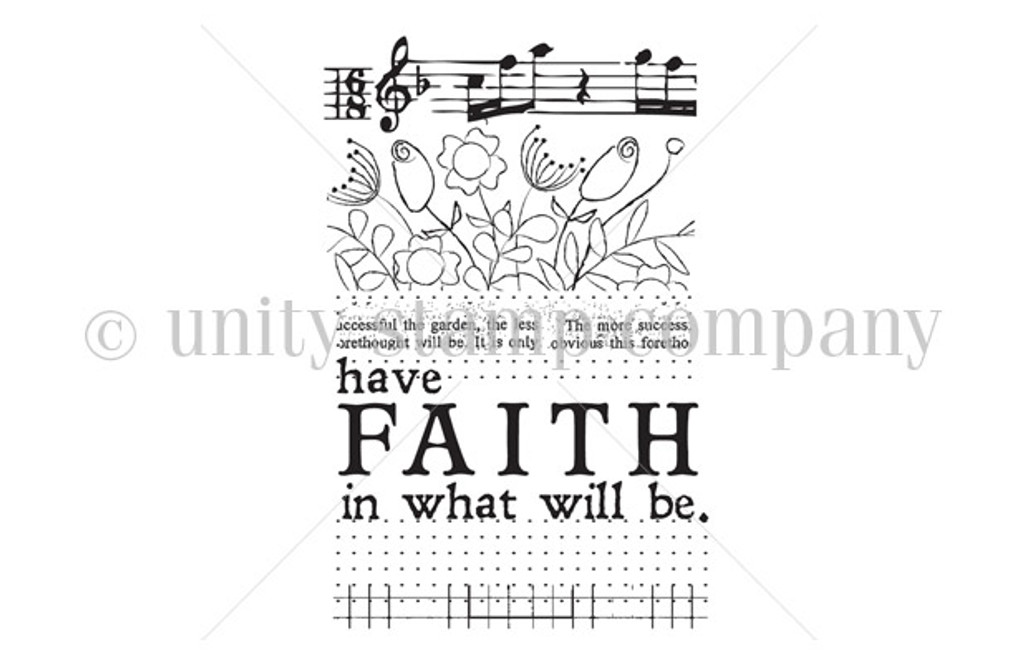 FAITH in what will be