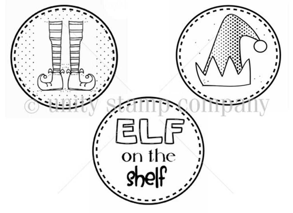 Elf Adventure Unity Stamp