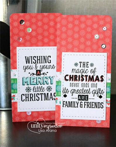 Magic of Christmas {november 2014 sentiment kit}
