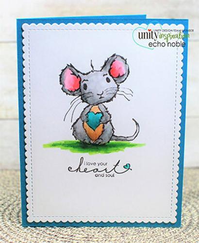 Alfie - Heart & Soul Mouse