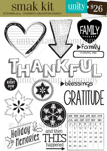 Thankful -Gratitude - Family {smak 10/14}