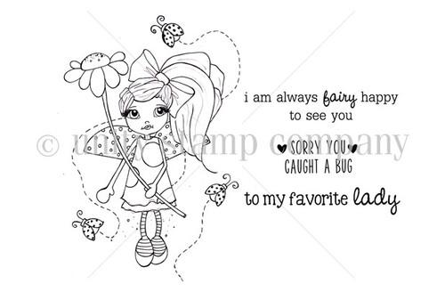 Lucy the Ladybug Fairy