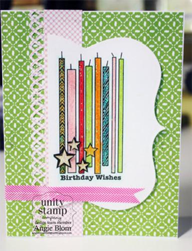 Candles, Stars & Birthday Wishes