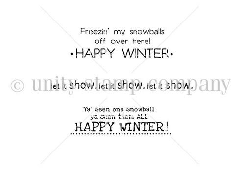 Freezin' my Snowballs