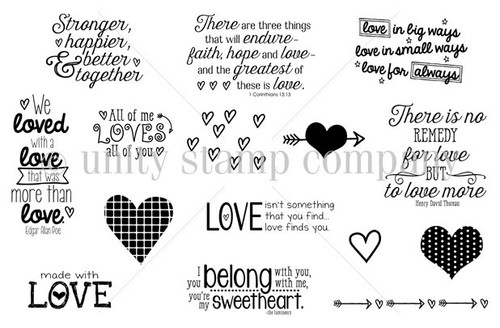 No Remedy for Love {january 2015 sentiment kit}