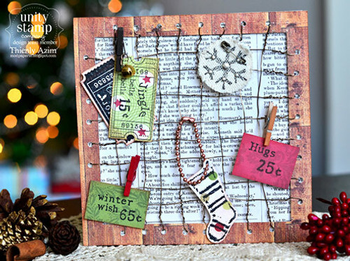 Ticket to Christmas {Itty Bitty}