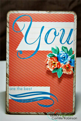 All about You {may 2014 sentiment kit}