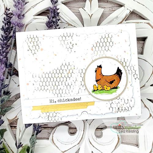 Chicken Wire Background