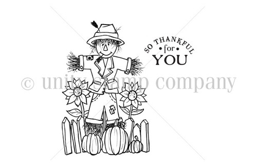 Scarecrow Thankful for YOU