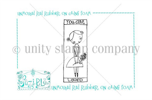 You are Loved-Exclusive Stamp by Suzi Blu