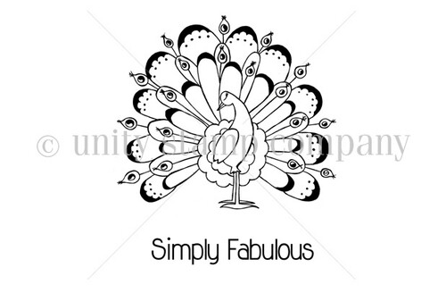 Simply Fabulous Peacock