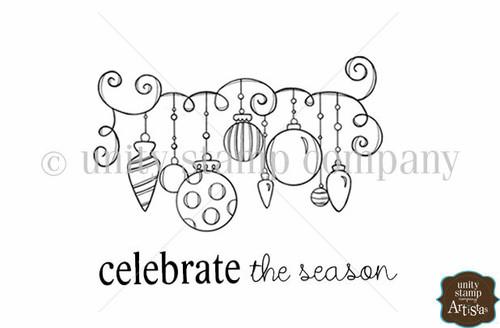 Ornamental Season {Itty Bitty}