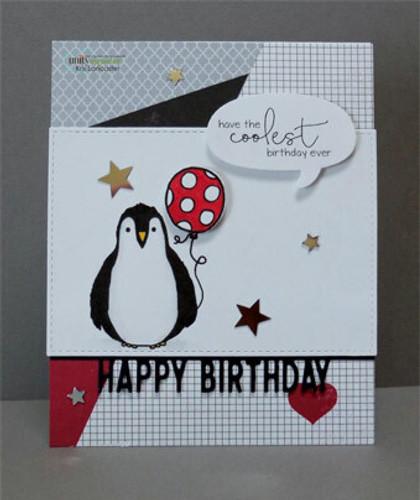 Coolest Birthday Penguin