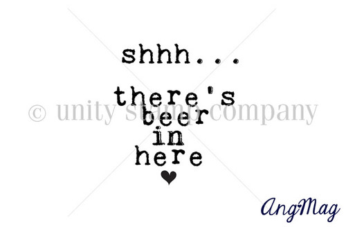There's beer in here
