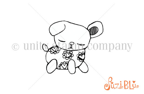 Loved Pets:Mellow Muffin-Exclusive Stamp by Suzi Blue
