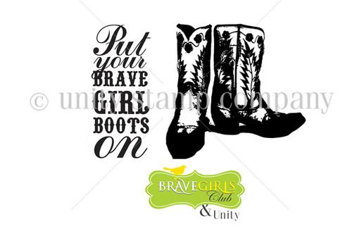 Brave Boots {MR Itty Bitty}