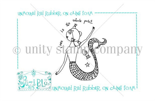 Love is the Whole Point-Exclusive Stamp by Suzi Blu