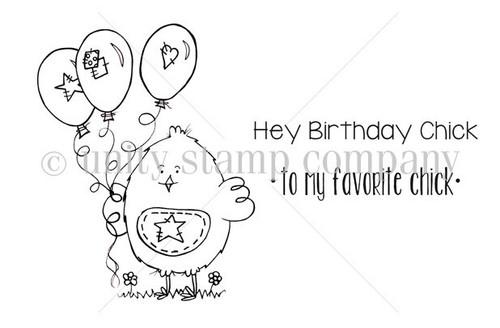Hey Birthday Chick