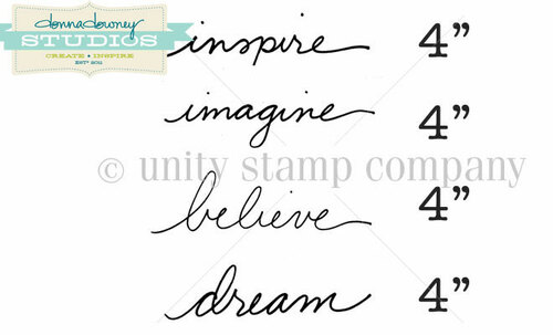 """""""Inspire"""" Words {Donna Downey}"""