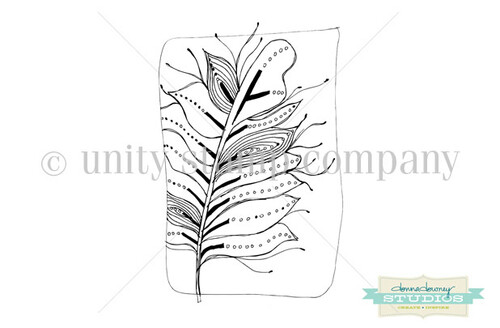 Tangled Leaf Background