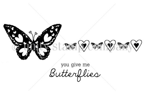 You give me tiny butterflies