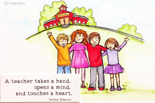 Teachers touch Hearts