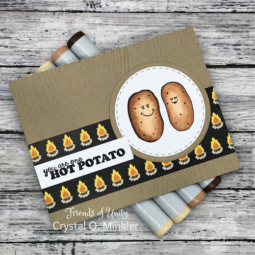 PUN Potato, Fry {and beans}