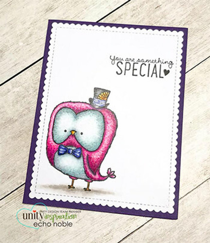 Owl I Do Say {February 2017 Sentiment Kit}