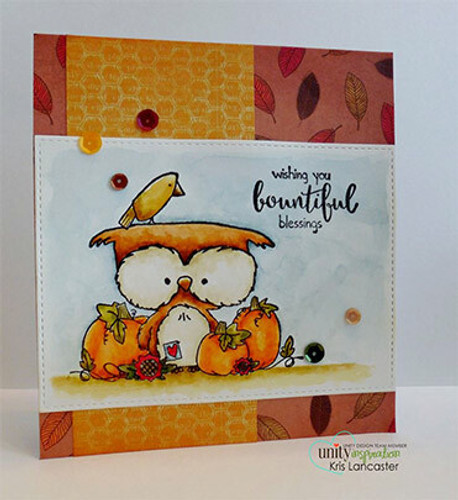 Bountiful Owl {september 2016 sentiment kit}