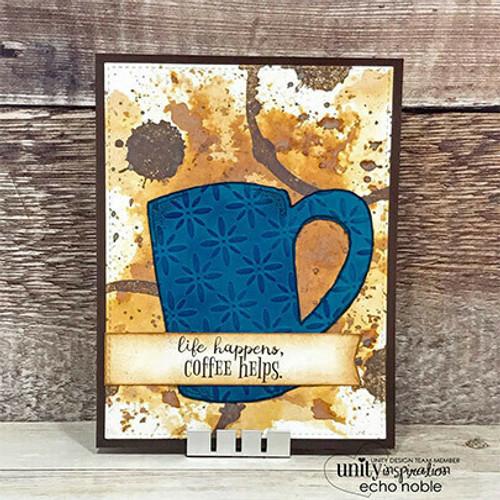 Cuppa Comfort {August 2017 Sentiment Kit}