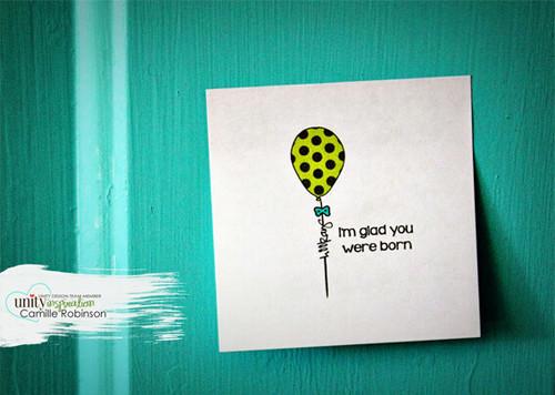 SO Glad You Were Born {February 2016 Sentiment Kit}
