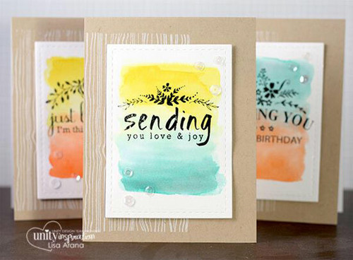 Blossoming Thoughts & Wishes {march 2015 sentiment kit}