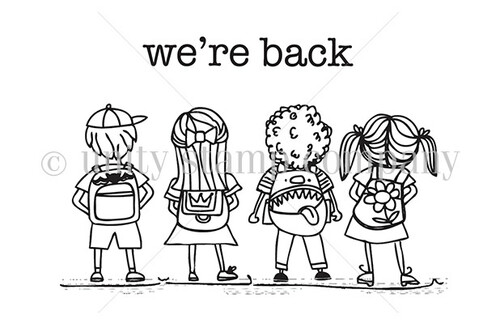 We're Back {to school}
