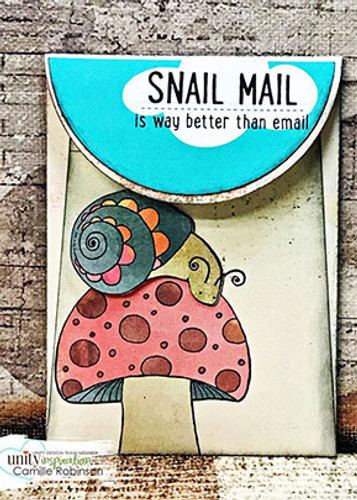 Happy Snail Mail {May 2017 Sentiment Kit}