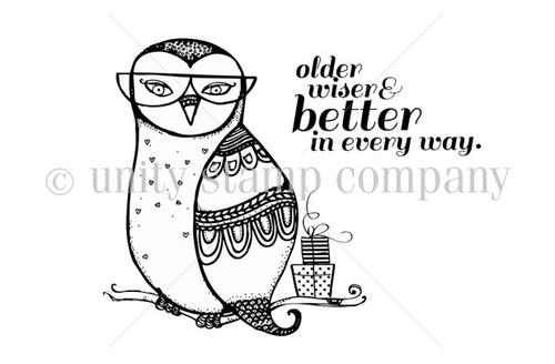 Older, Wiser, Better Owl