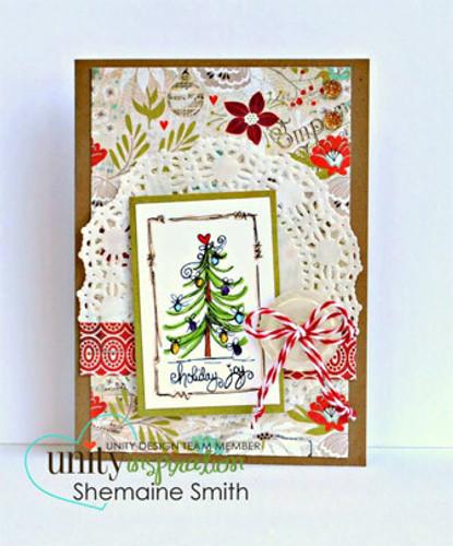 Holiday Joy Christmas Tree