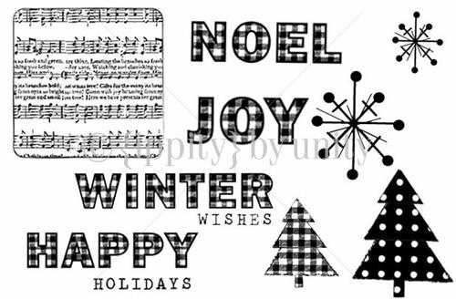 Gingham Christmas Greetings