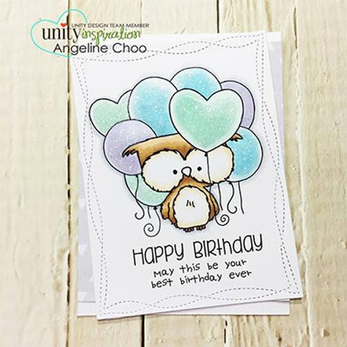 Hugs, Kisses & Birthday Wishes {July 2017 Sentiment Kit}