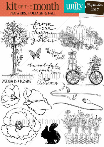 Flowers, Foliage & Fall {kom 9/17}