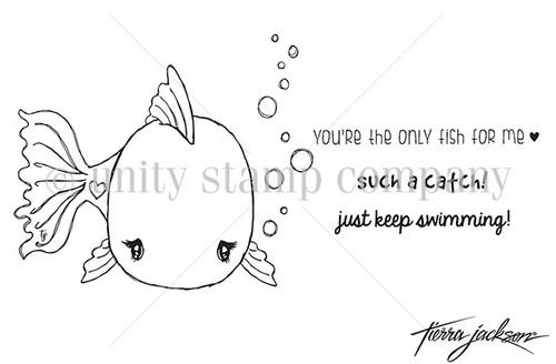 Cuddlebug Fishy