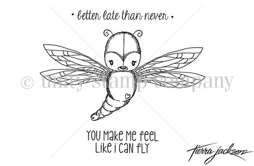 Cuddlebug Dragonfly {uu 5/18}