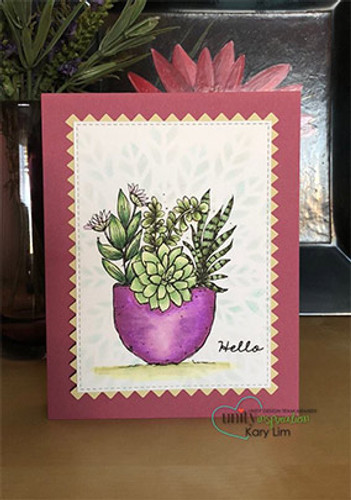 Succulent Greetings {uu 6/18}