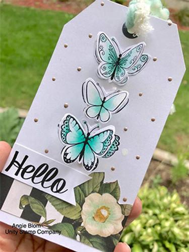 3 Little Butterflies